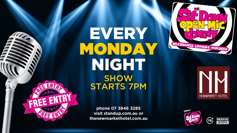 Live Shows: Open Mic Comedy Night - Nov 18 - Newmarket Hotel