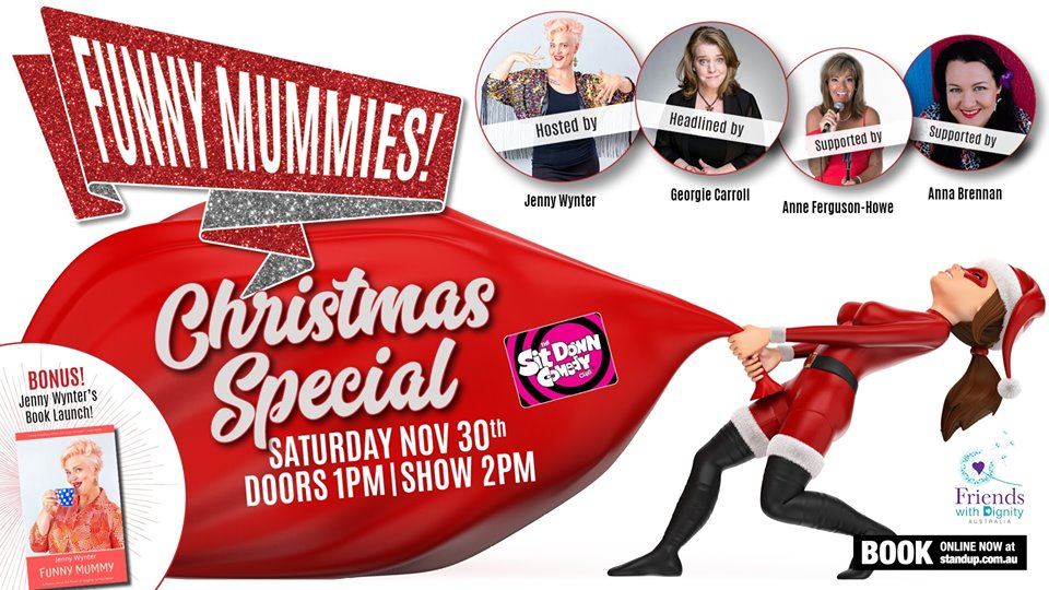 Live Shows: Funny Munnies Christmas Special - Nov 30 - Sit Down Comedy Club