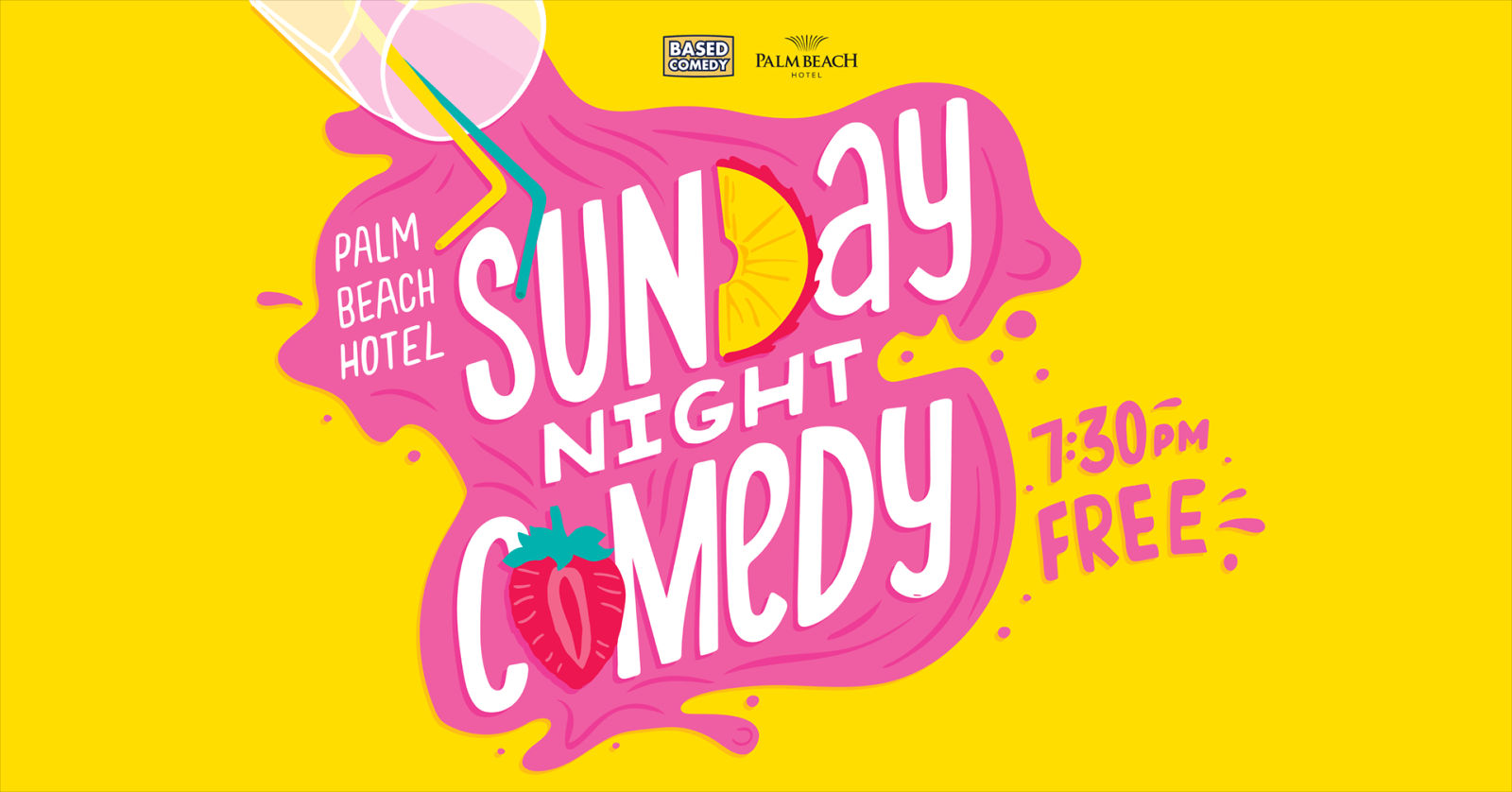 Live Shows: Sunday Night Comedy (Based Comedy) - Dec 08 -The Palm Beach Hotel