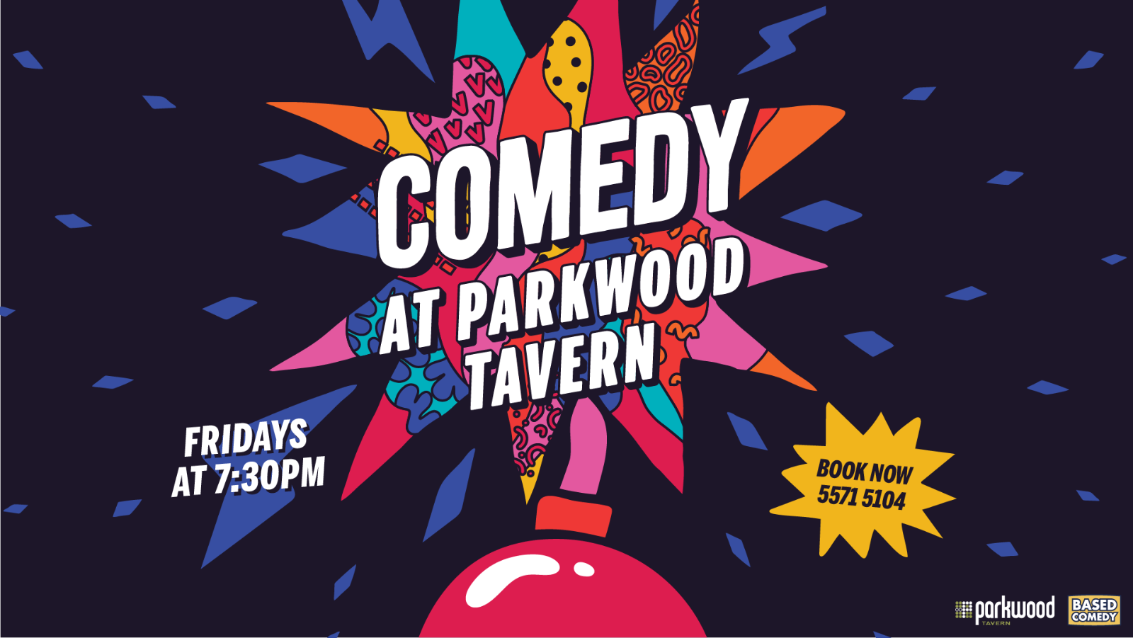 Live Shows: Based Comedy - Dec 13 - Parkwood Tavern