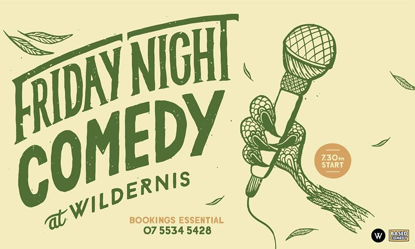 Live Shows: Friday Night Comedy - Dec 13 - Wildernis