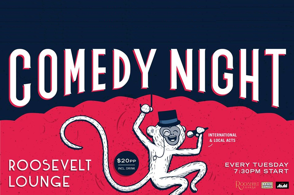Live Shows:  Tuesday Night Comedy - Dec 17 - Roosevelt Lounge