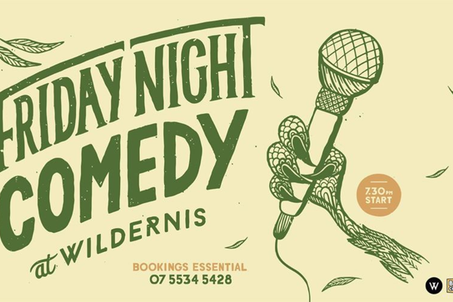 Live Shows:  Friday Night Comedy - Dec 20 - Wildernis