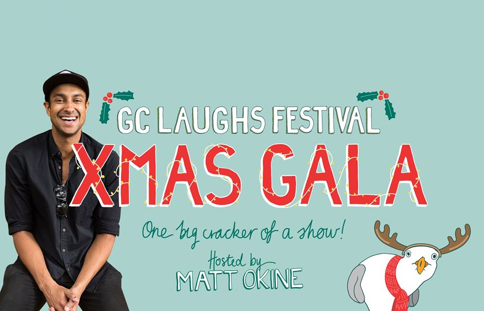 Live Shows: GC LAUGHS XMAS GALA - Dec 20 - HOTA, Home of the Arts