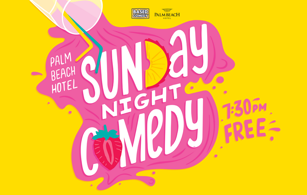 Live Shows: Based Comedy - Dec 22 -The Palm Beach Hotel