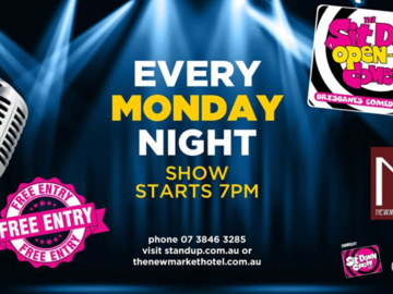 Live Shows:  Open Mic Comedy Night - Dec 23 - Newmarket Hotel