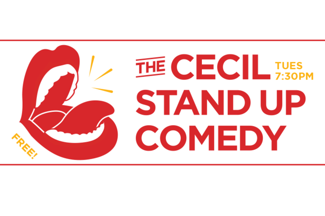Live Shows:  Based Comedy - Dec 24 - Cecil Hotel