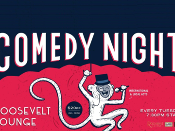 Live Shows:  Tuesday Night Comedy - Dec 24 - Roosevelt Lounge
