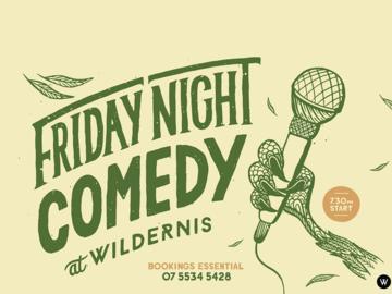 Live Shows:  Friday Night Comedy - Dec 27 - Wildernis