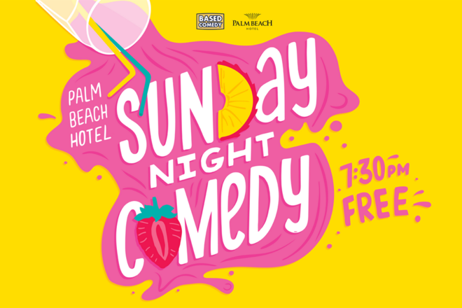 Live Shows: Based Comedy - Jan 05 -  The Palm Beach Hotel