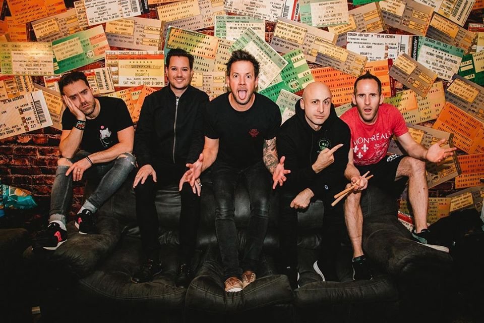 Live Shows: Simple Plan - Jan 10 - Cbd Live (southport)