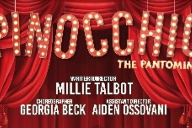 Live Shows:  PINOCCHIO-The Pantomime -Jan 10 -Spotlight Theatrical Company