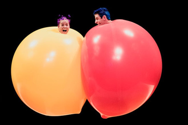 Live Shows:  Acrobuffos - Jan 11 - HOTA