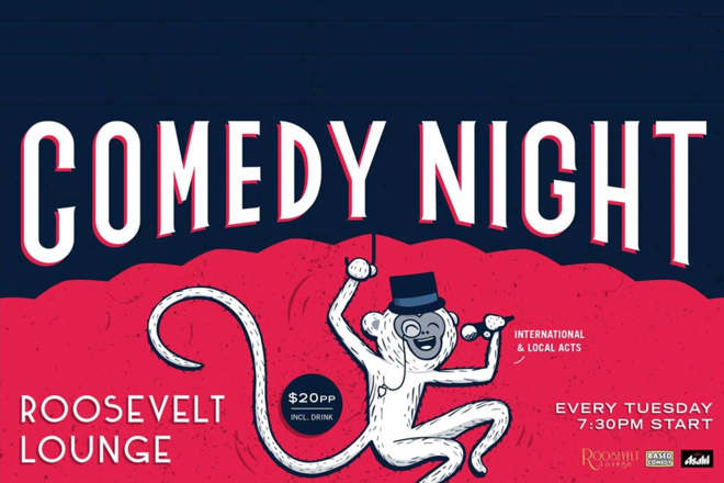 Live Shows: Based Comedy - Jan 14 - Roosevelt Lounge