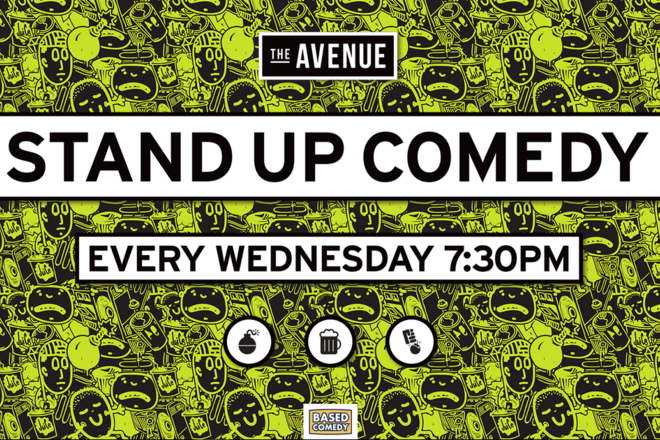 Live Shows:  Based Comedy - Jan 15 - The Avenue