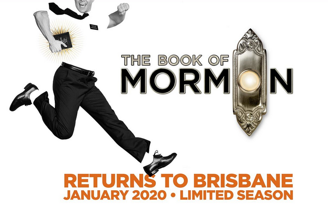 Live Shows: The Book of Mormon 2020 - Jan 19 -  Lyric Theatre