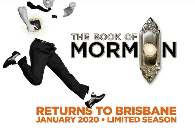 Live Shows:  The Book of Mormon 2020 - Jan 23 - Lyric Theatre