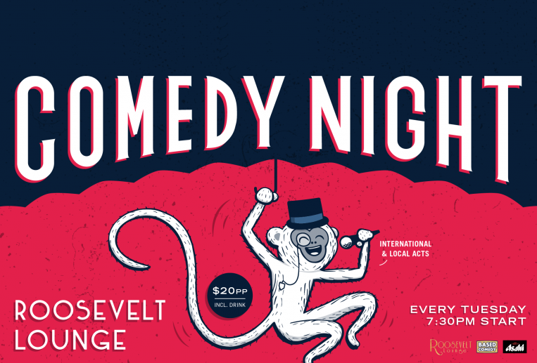 Live Shows: Tuesday Night Comedy - Oct 08 - Roosevelt Lounge