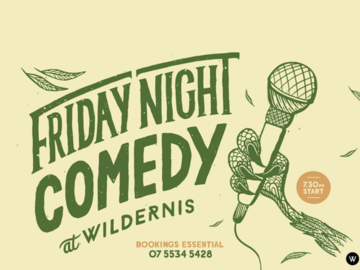 Live Shows: Friday Night Comedy - Mar 06 - Wildernis