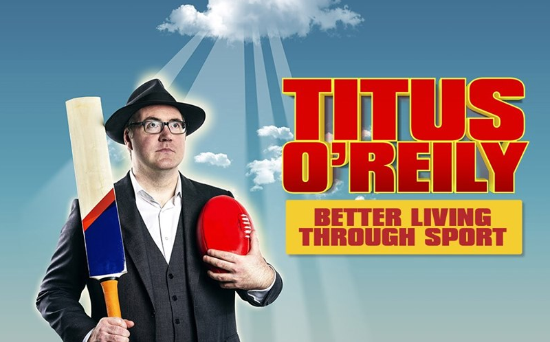 Live Shows: Titus O'Reily - Oct 19 - Sit Down Comedy Club