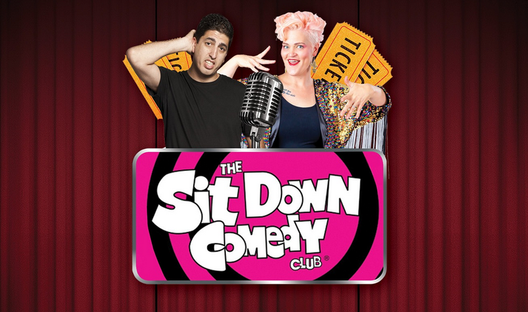 Live Shows: Sit Down Comedy Club - Nov 08 - North Lakes Sports Club